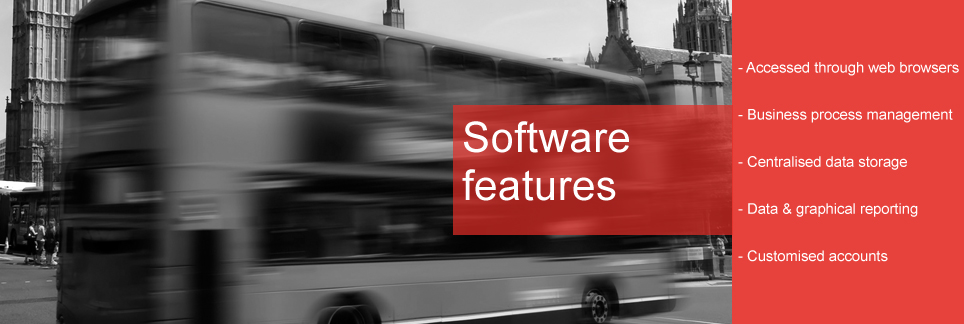 Web based software for Public Transport Operators